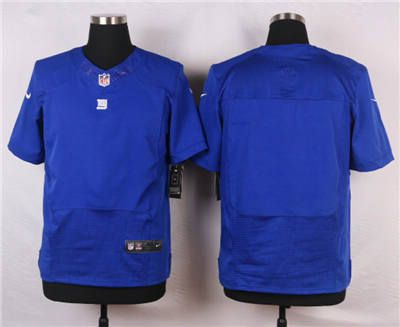 promo code a27e3 77539 Nike New York Giants Blank Blue Elite Jersey | New York ...