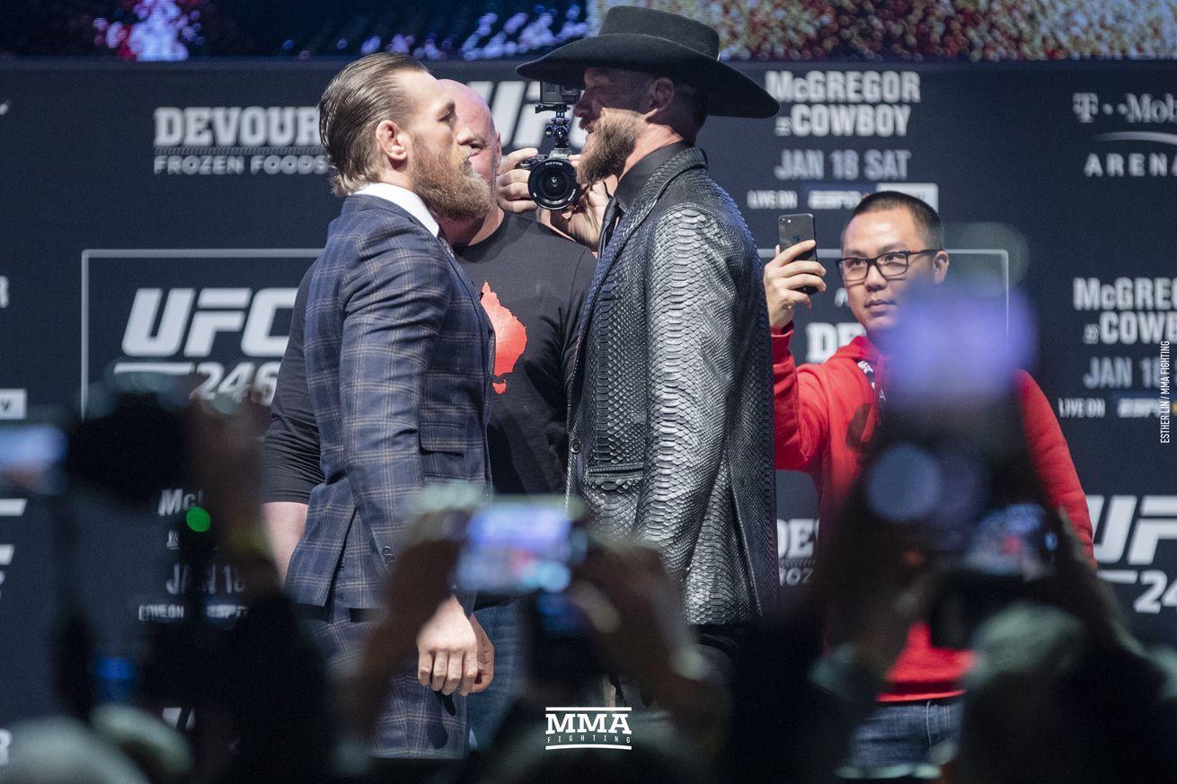UFC 246 video Conor McGregor vs. Donald Cerrone press