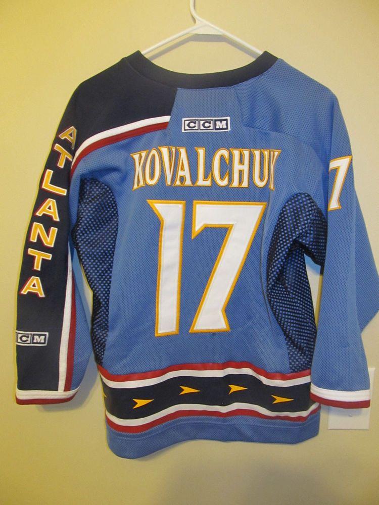 Ilya Kovalchuk - Atlanta Thrashers Hockey Jersey - CCM youth Large   XL   CCM  AtlantaThrashers 386aa35ff