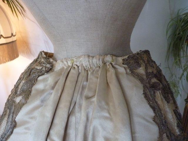 WORTH Evening Dress, Paris, ca. 1898 - www.antique-gown.com ...