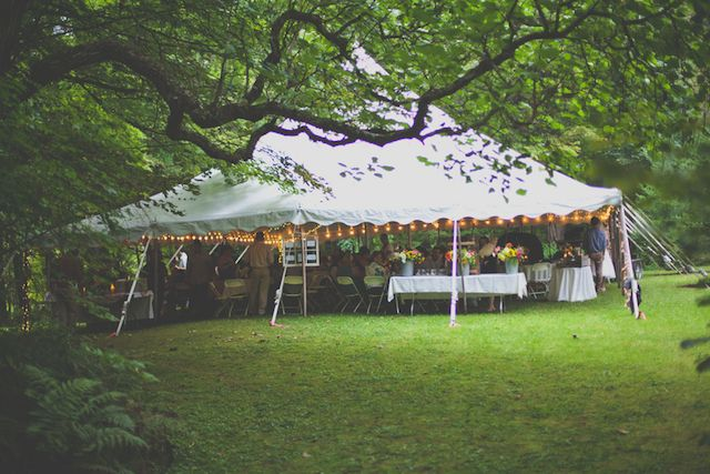 Rustic New Hampshire DIY Summer Camp Lake Wedding   Woodsy Weddings
