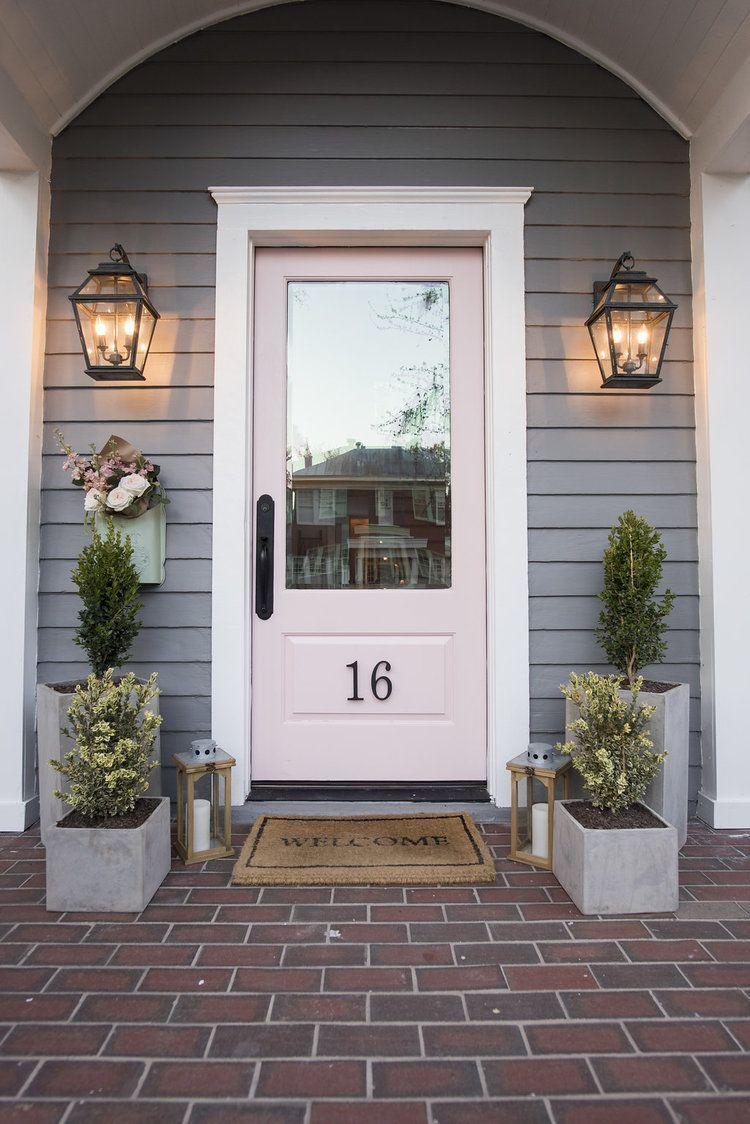 55 Charming Front Door Entryway Decor Ideas Decoona Exterior Door Trim Front Door Entryway Exterior Front Doors