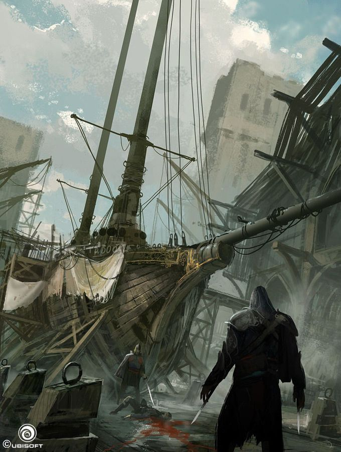 Assassin's Creed Revelations Concept Art by Martin Deschambault