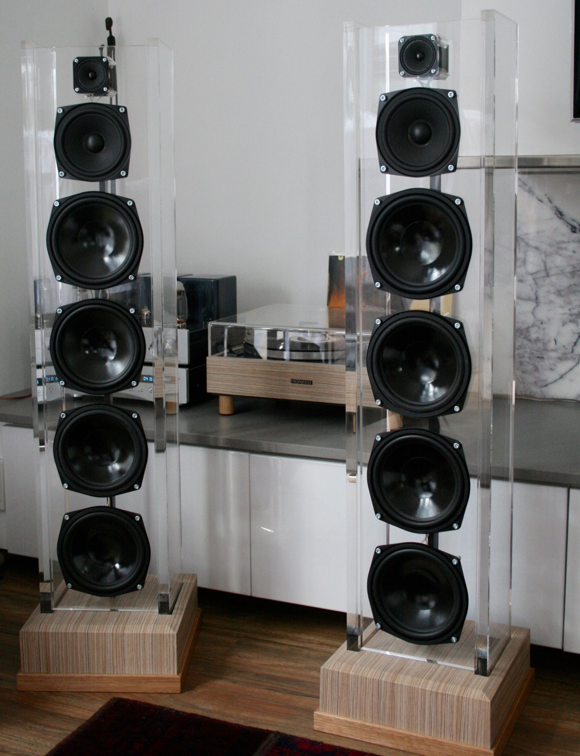 Acrylic Speakers Diy For Sale Http://wwwebaycomau/itm/open