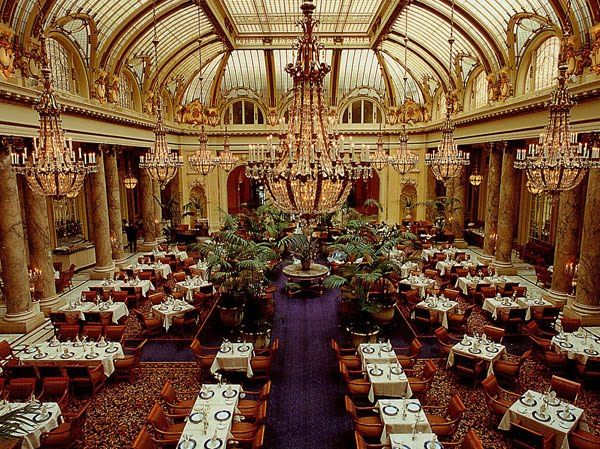 Palace Hotel, San Francisco Garden Court . . . Brunch or