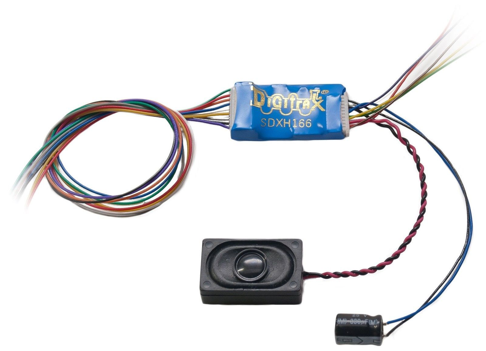 decoders 180342 digitrax sdxh166d ho premium dcc motor and sound decoders 180342 digitrax sdxh166d ho premium dcc motor and sound decoder and speaker modelrrsupply