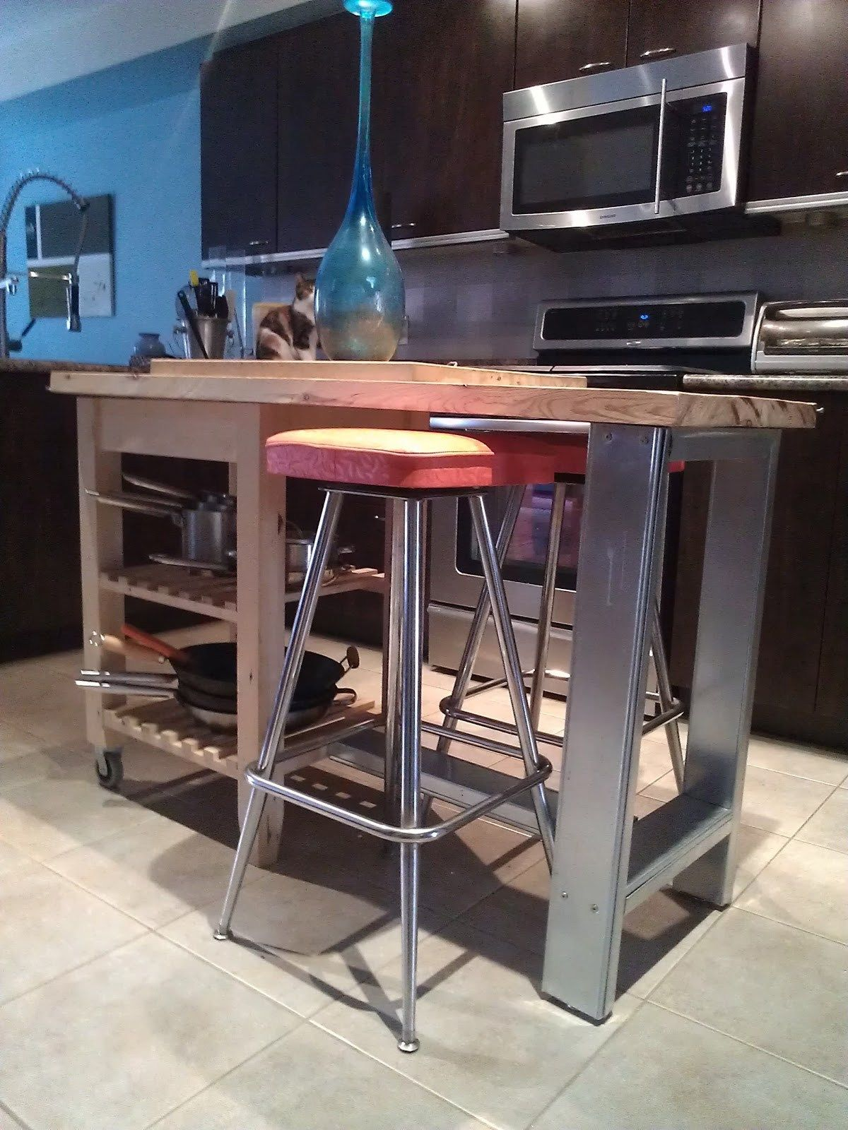 Charm Small Kitchens Installing Ikea As Wells As Kitchen Island