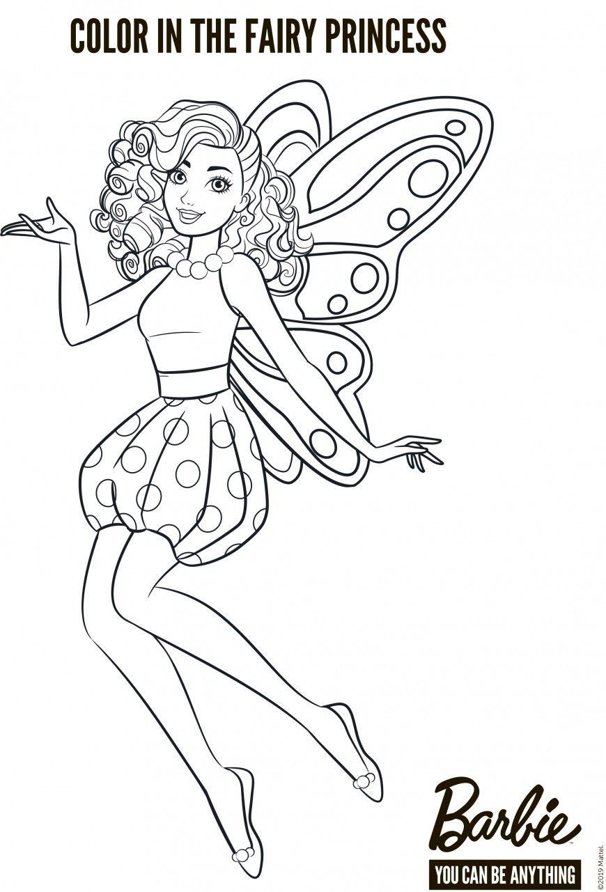 Barbie Fairy Coloring Pages Em 2020 Colorir Barbie Kawaii Desenhos Fofos Desenhos Preto E Branco