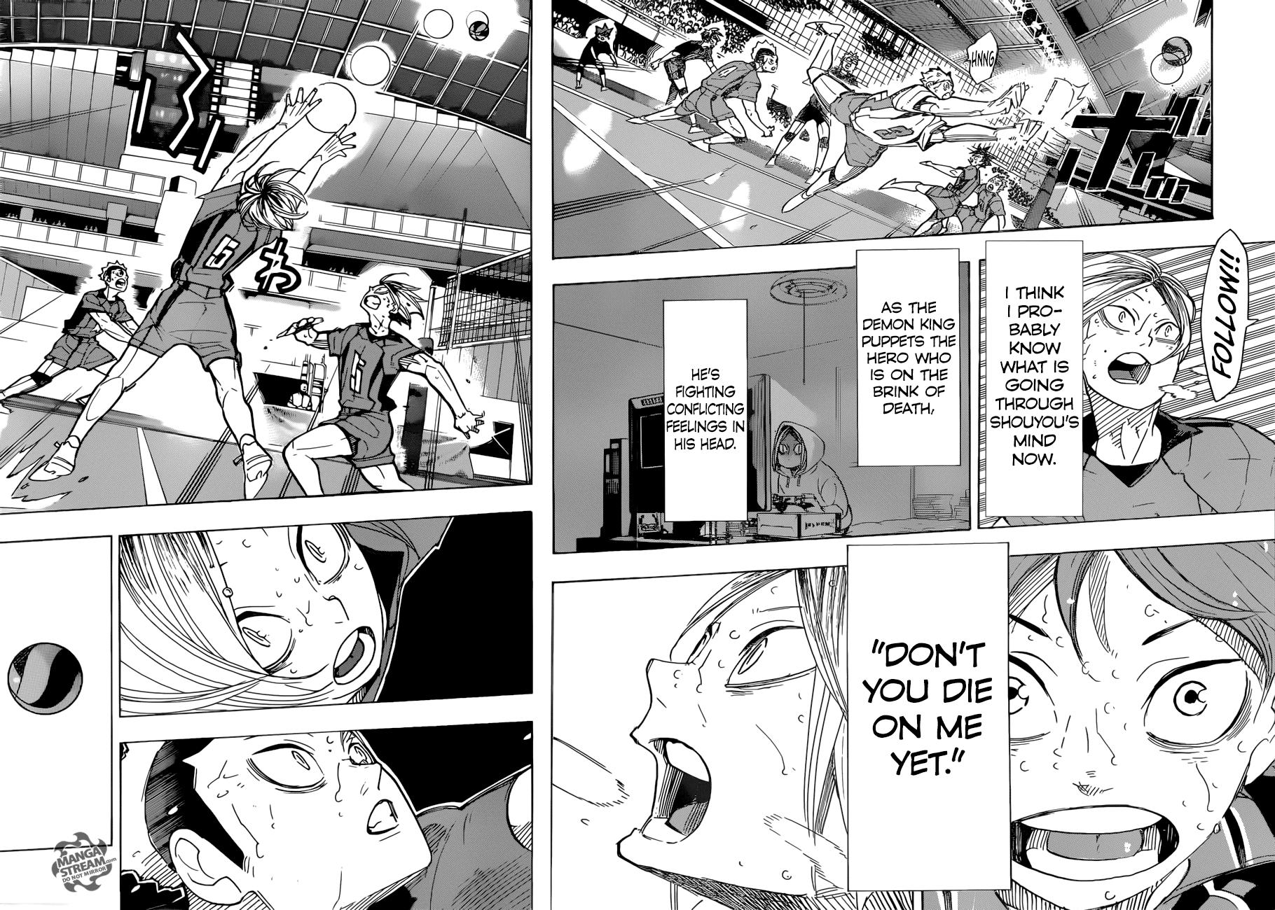 Haikyuu Chapter 323 Read Haikyuu Manga Online Haikyuu Manga Haikyuu Haikyuu Anime Chàng khổng lồ tí hon. haikyuu chapter 323 read haikyuu