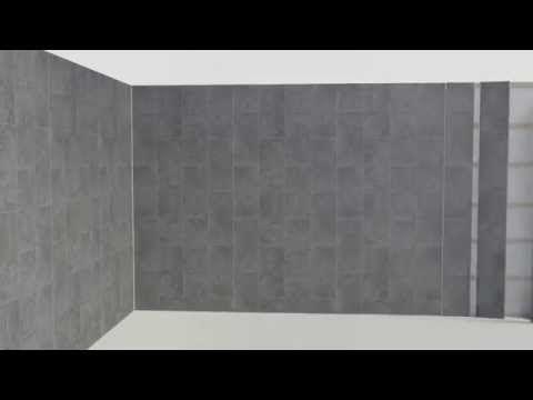 How To Fit Bathroom Cladding Youtube Bathroom Installation Fitted Bathroom Bathroom Cladding