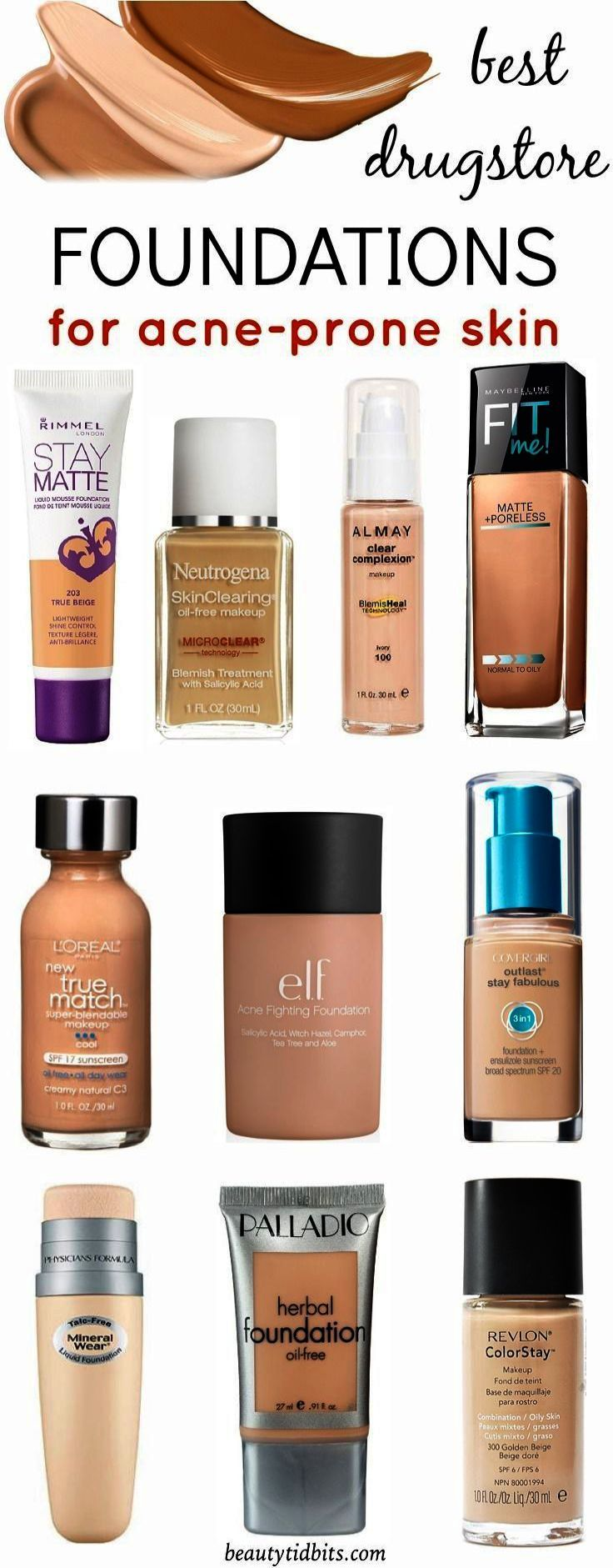 Dupe Makeup Brands One Makeup Geek Brownie Points Though Makeup Revolution Newtrals 3 Hour Best Drugstore Foundation Skin Makeup Foundation Acne Prone Skin