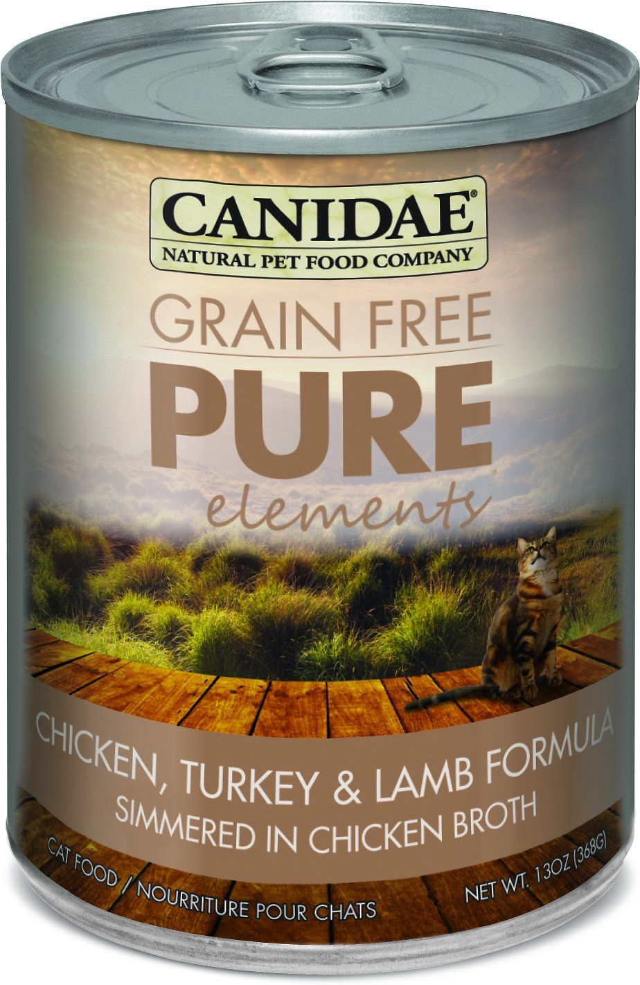 CANIDAE GrainFree PURE Elements can formula is made with