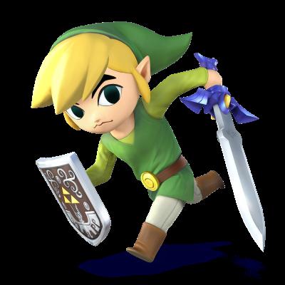 Toon Link Is Returning For Smash U 3d Super Smash Bros Giant Bomb Smash Bros Wii Smash Bros Super Smash Bros Brawl