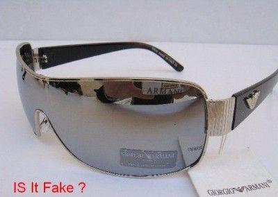 4e90fcb5eb How to Spot Fake Armani Sun Glasses