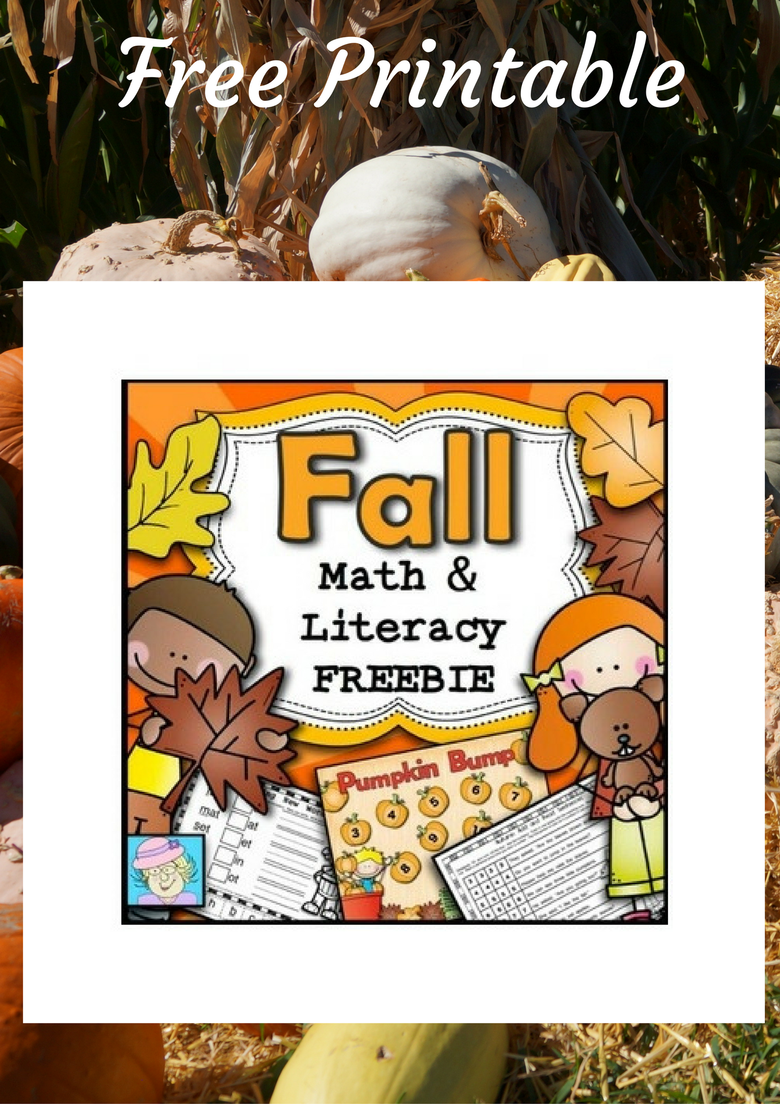 Fall Math And Literacy Free Printable Worksheets