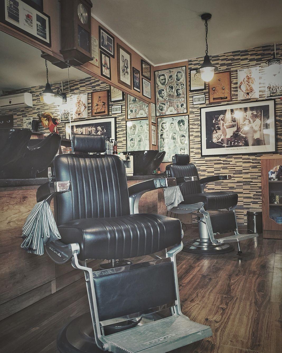 Classic barber shop chairs - Barbershop