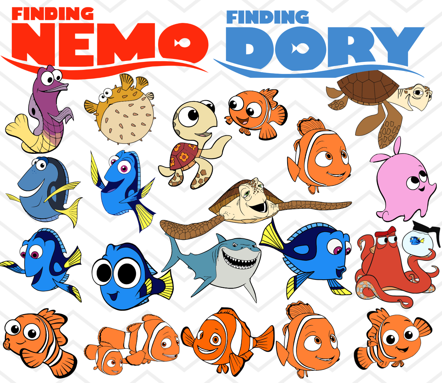 Pin On Finding Nemo Finding Dory