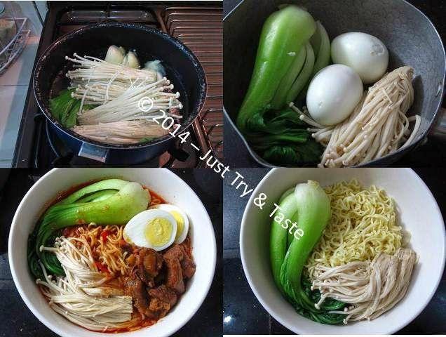 Just Try & Taste: Korean Ramyun - Mie Kuah Pedas Korea a la Just Try & Taste