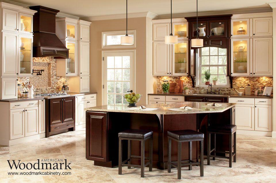 charlottesville maple hazelnut kitchen with cherry java accents farmhouse kitchen cabinets on farmhouse kitchen maple cabinets id=14738