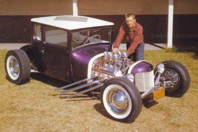 Purple Model T Hot Rod Car Wheels Hot Rods Hot Rods Cars