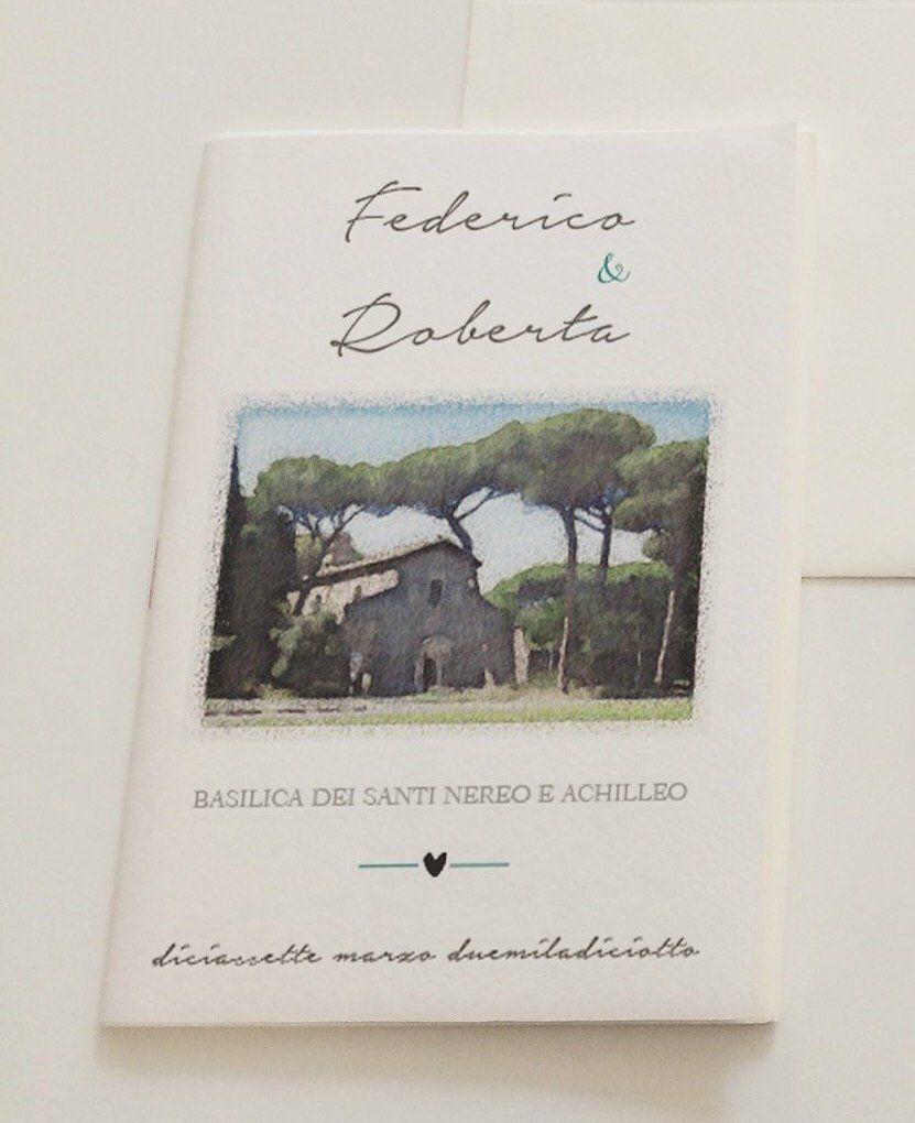 Libretti Messa Matrimonio Religioso Busta Inviti Formato A5 E A6 Handmade Handmade Gifts