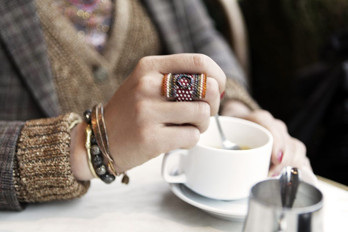 disfrutar siempre de un rico café, dentro o fuera pero con placer