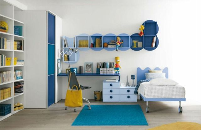 Bunte Kinderzimmermöbel Fördern Die Kreativität | Kinderzimmer