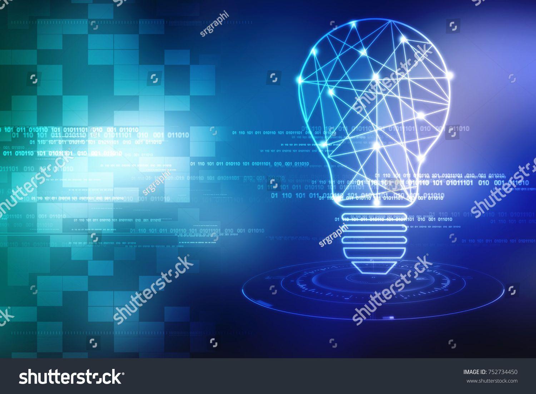 bulb future technology, innovation background, creative
