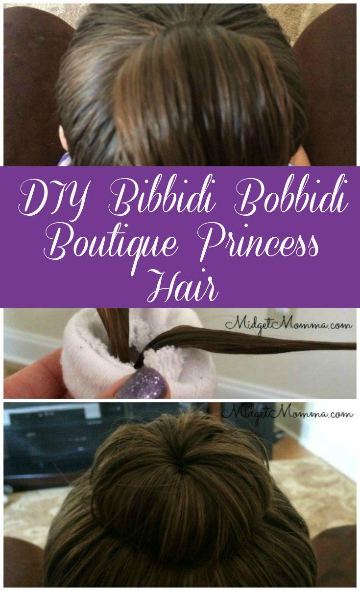 Diy Bibbidi Bobbidi Boutique Princess Hair Princess Hairstyles