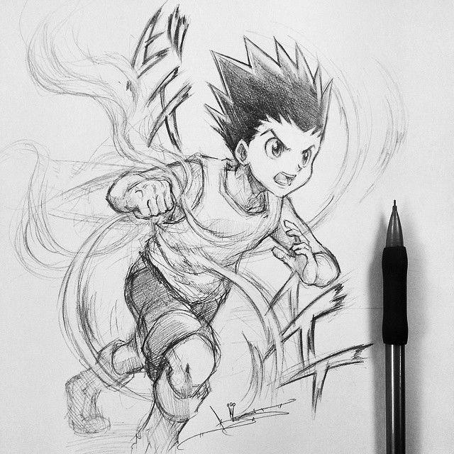 Artist Itsbirdy Hunter X Hunter Gon Com Imagens Desenhos