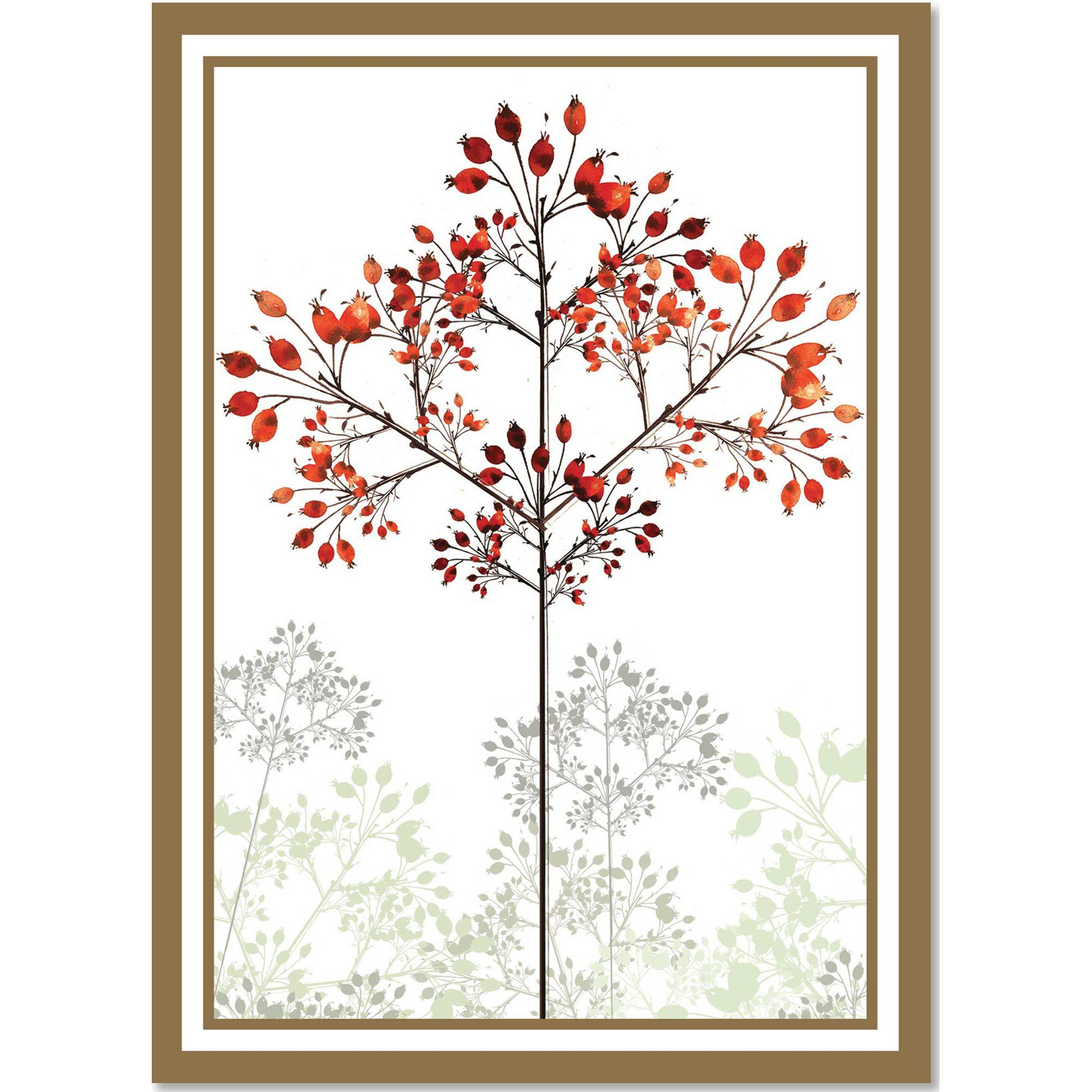 Winter Trees Large Boxed Holiday Cards (Christmas Cards, Greeting ...