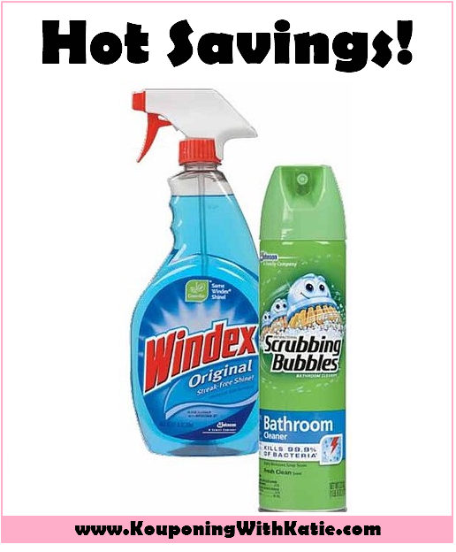 Money Maker Deal On Windex Or Scrubbing Bubbles At Walmart ...
