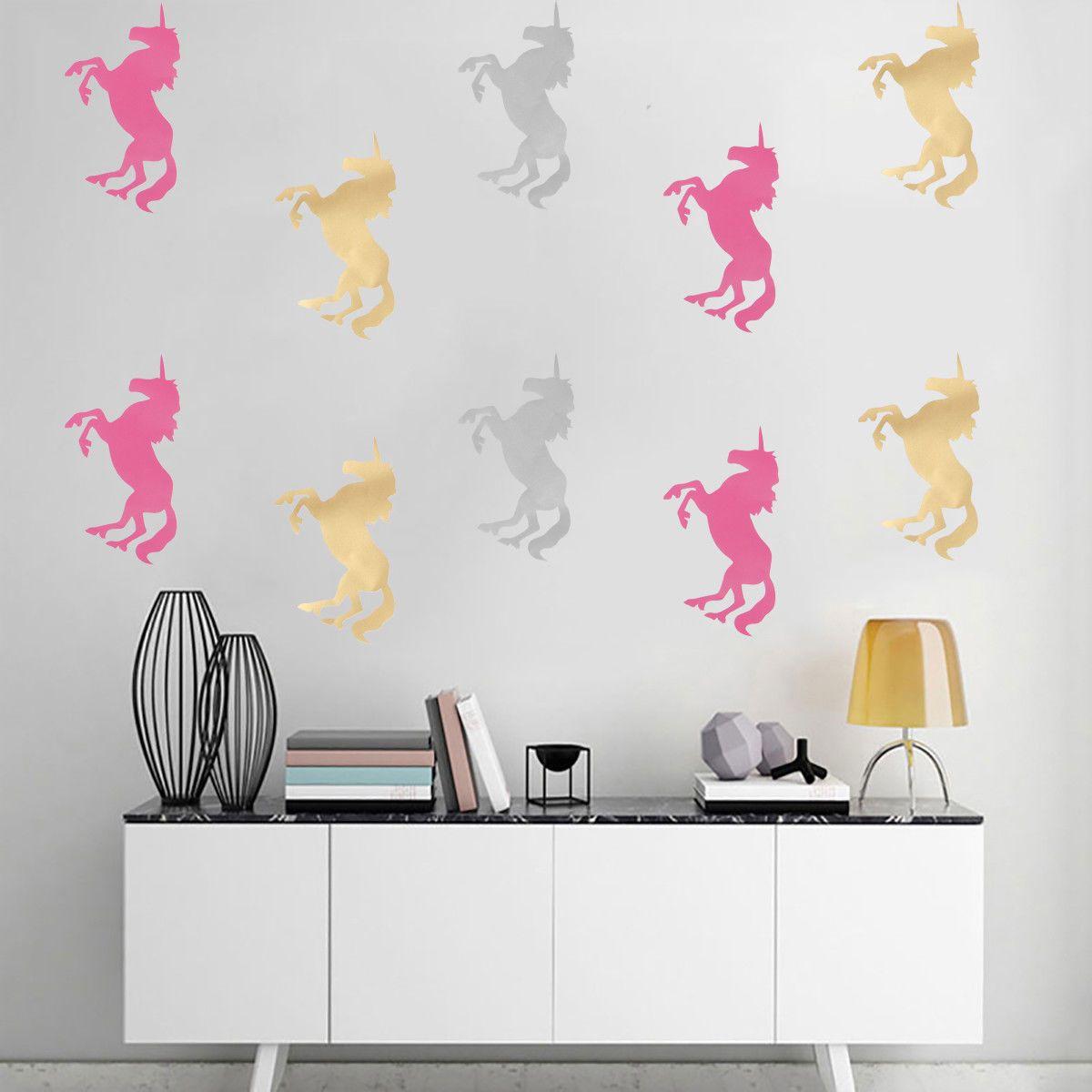 unicorn wall art stickers