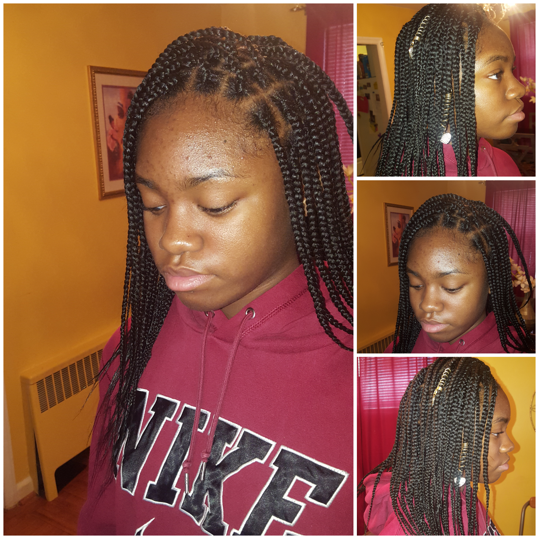 Box braids my creations pinterest