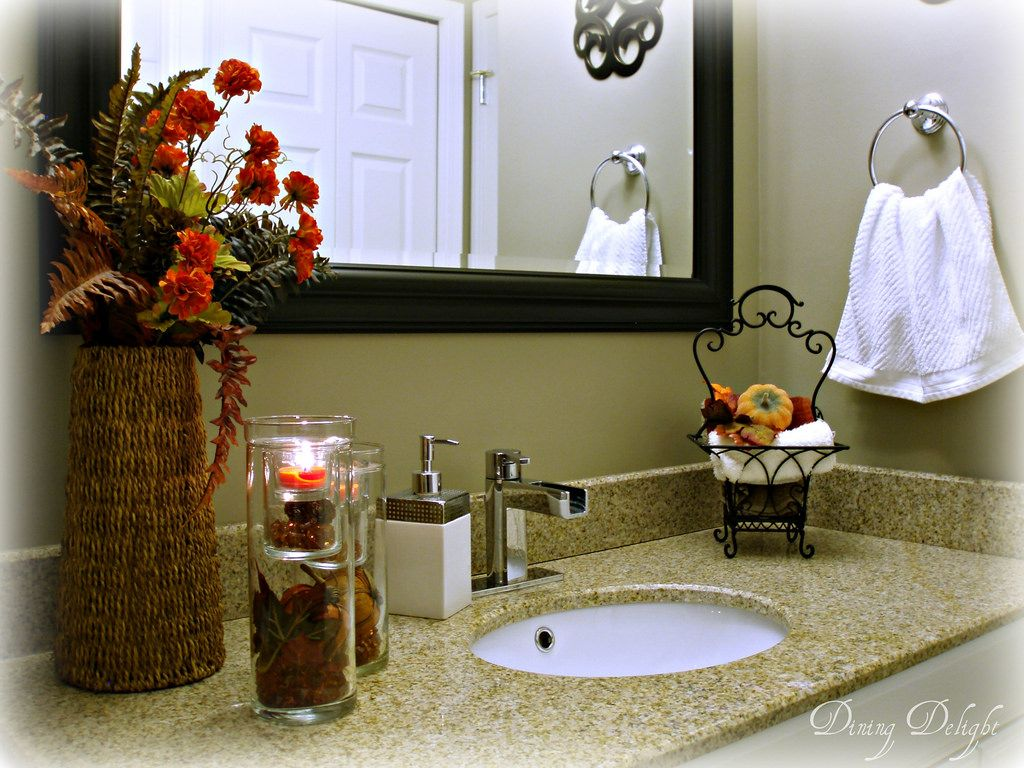 Fall Bathroom Decorating Ideas | Decorating, Fall decor and Decoration
