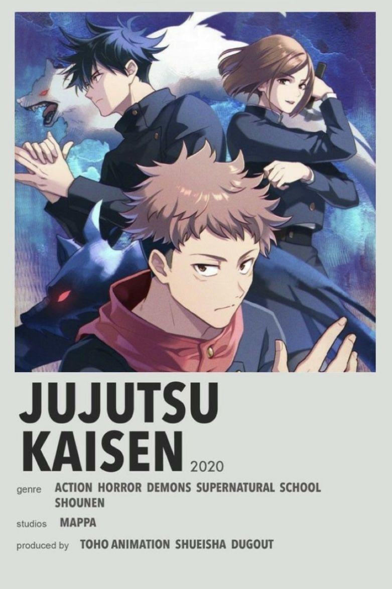 Jujutsu Kaisen En 2021 Affiches De Films Style Minimaliste Affiches De Films Minimalistes Illustrations Animees