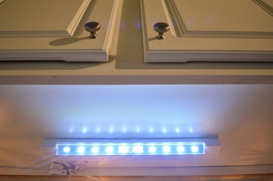Battery Powered Under Kitchen Cabinet Lighting Under Cabinet