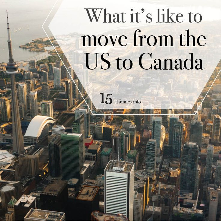 How To Move To Canada From Us With No Money