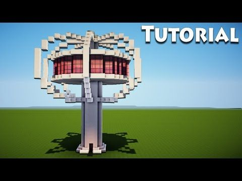 Minecraft: Modern Tree house Tutorial / How to Build a Cool