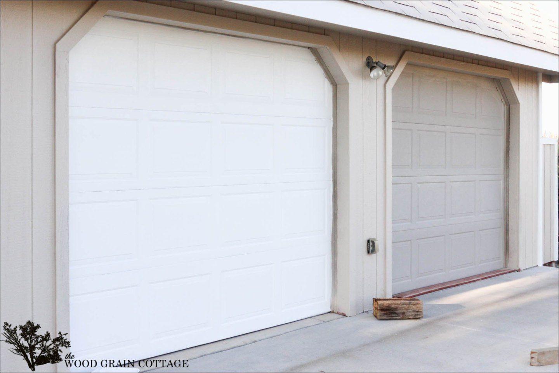 37 Garage Door Trim Ideas To Improve Your Exterior Garage Doors For Sale Garage Door Design Garage Doors