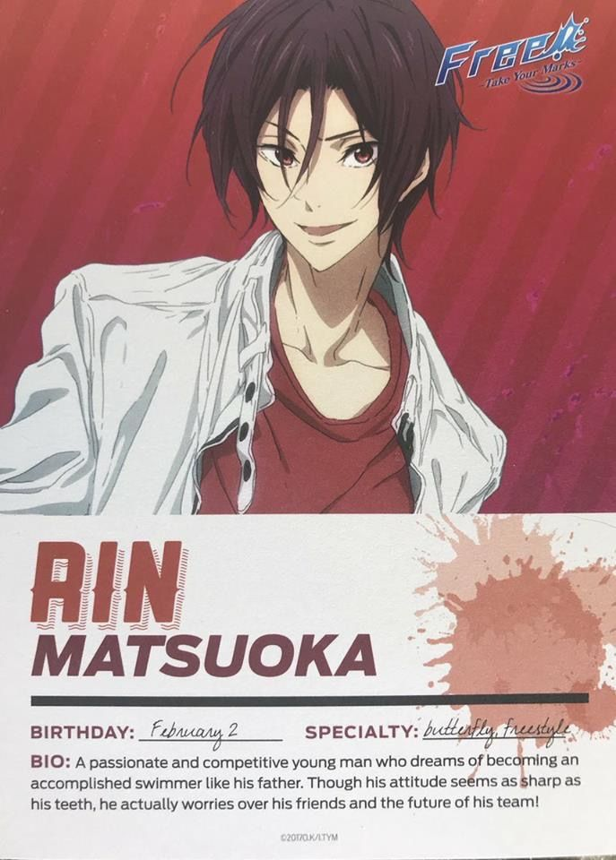 All My Respect To My Favorite Shark Free Iwatobi Free Anime Free Eternal Summer Get notified when shark tooth (rin matsuoka) is updated. pinterest