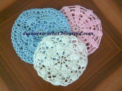 Diana es crochet: Redecilla para danza o ballet | Hair accessories ...