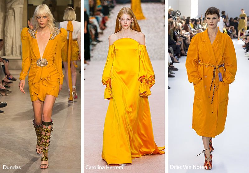 17b5ef3c32 Spring  Summer 2019 Color Trends  Mango Mojito
