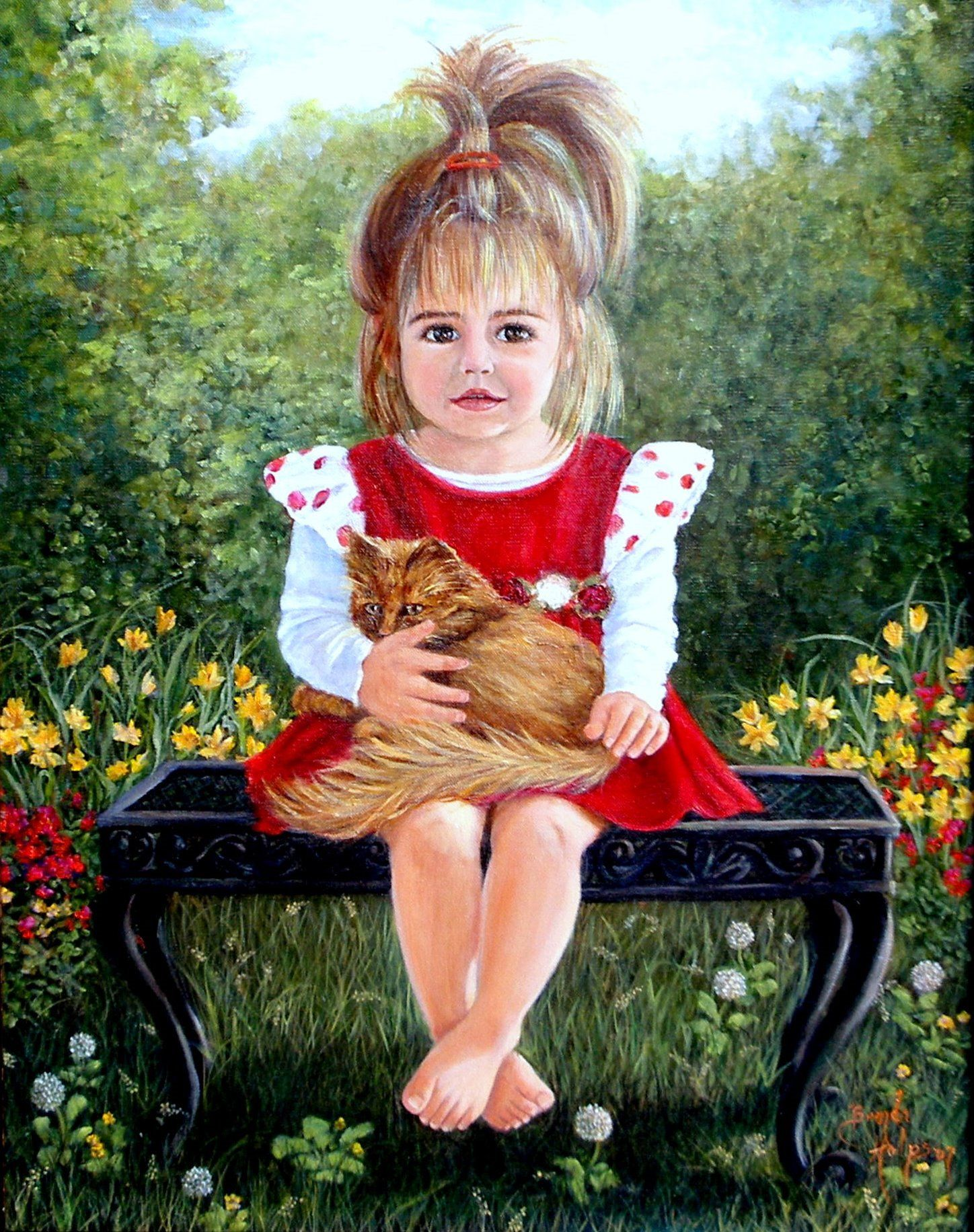famous painting of children | Home Page / The Gallery of Children's Portraits / The Gallery of Pet ... | Paintings of Children (and Drawings) | Painting for kids, Artists for kids, Artist painting