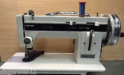 Industrial Strength Sewing Machine Heavy Duty Upholstery Leather