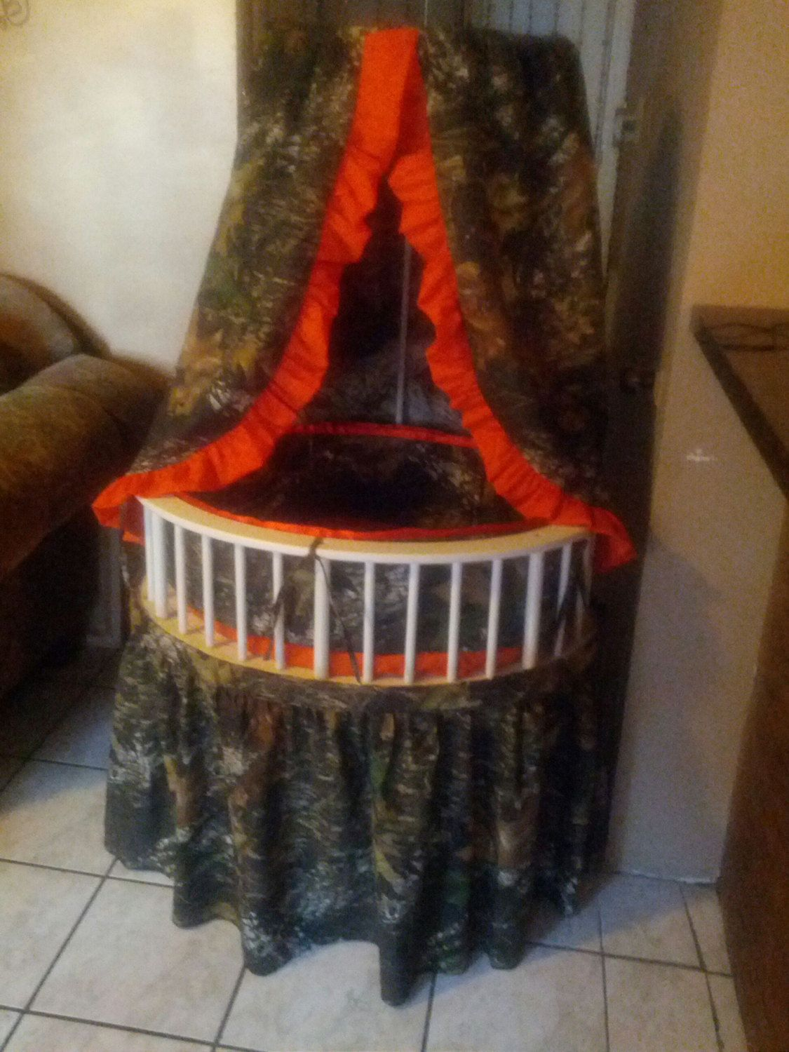 Mossy Oak Bassinet Bedding Set Oval Or Round By