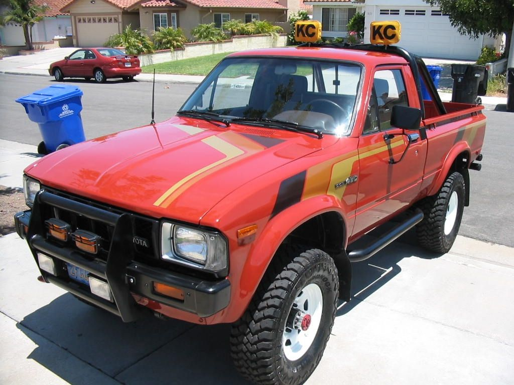 1983 toyota pickup [ 1024 x 768 Pixel ]