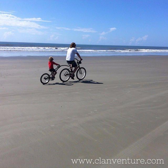 Family Bike Ride On Kiawah Island The Island Has Miles And Miles