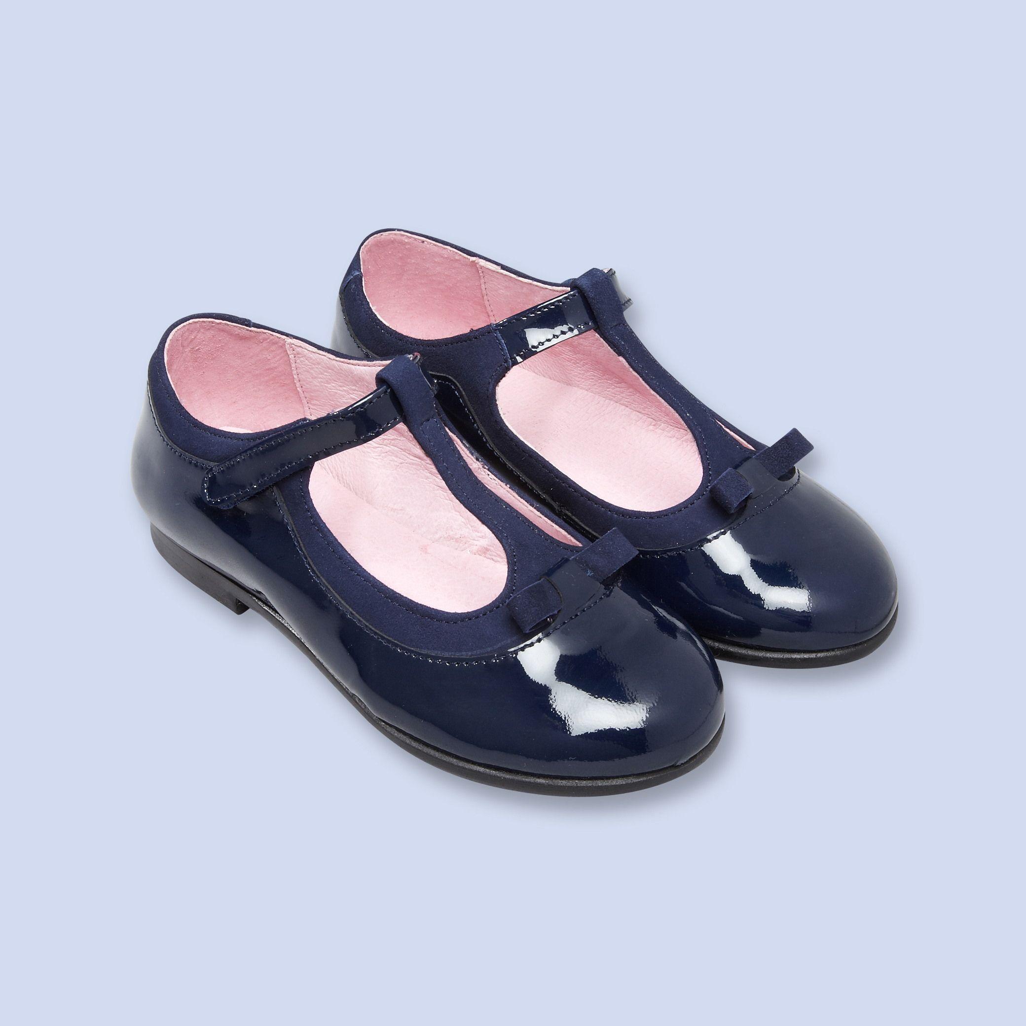 Salomés bi matière, fille | Chaussure enfant, Chaussure
