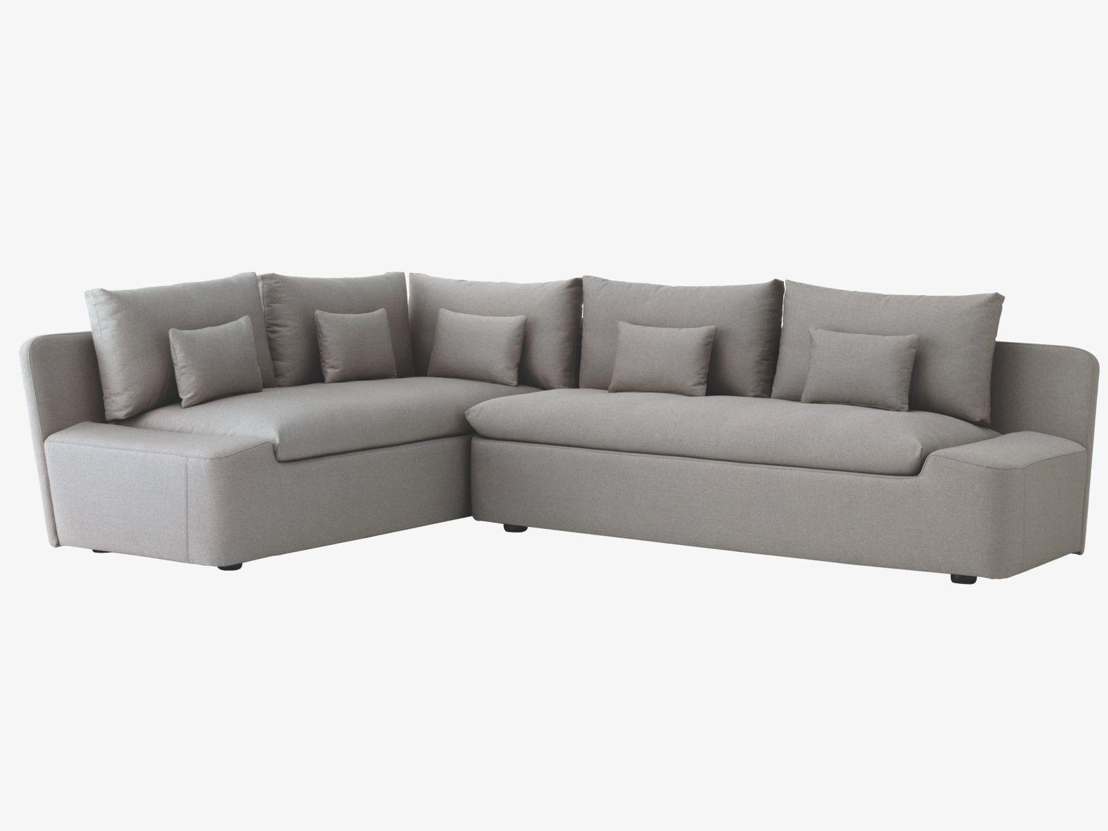 Kasha Grey Fabric Right Arm Corner Sofa Contemporary Couches Corner Sofa Upholstered Sofa